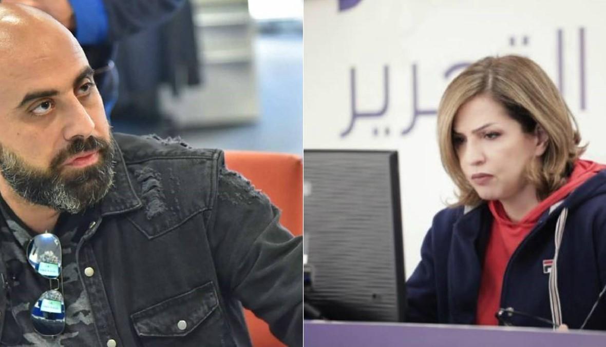 """حرب كلامية ثقيلة بين هشام حداد ومريم البسّام... وكارلا حداد: """"يقبرني ربّك"""""""