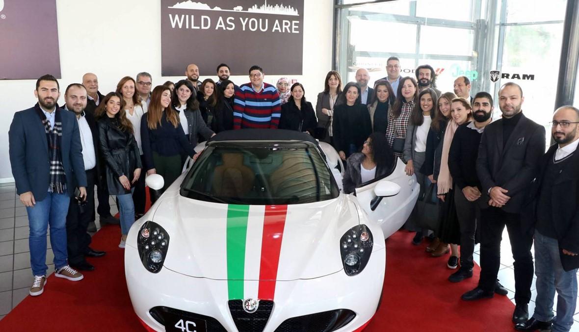 """الفائز بسيارة Alfa Romeo التي تفوق قيمتها 100.000 دولار بعد الاشتراك ببريميوم """"النهار"""""""