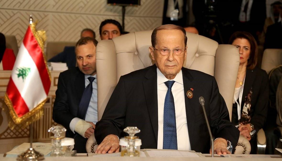 هل يطالب عون بعودة سوريا الى الجامعة العربية؟