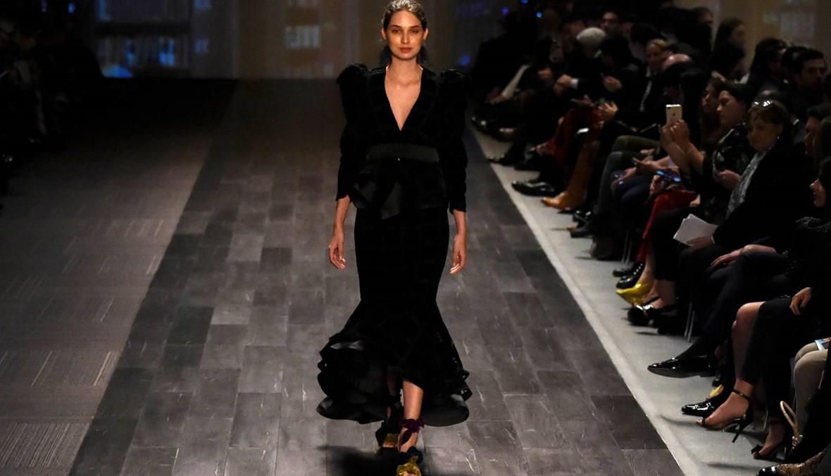 سيلفيا تشيراسي في أسبوع الموضة في بوغوتا