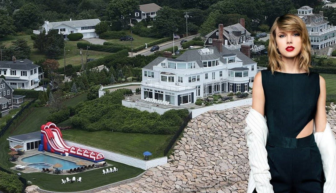 """""""سيّارة مسروقة"""" تقتحم منزل تايلور سويفت... جرحى وإدانة  (صور)"""
