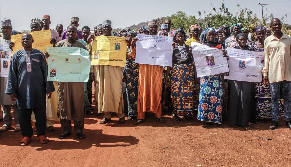 "نيجيريا تتذكّر فتيات شيبوك اللواتي خطفتهن ""بوكو حرام"": مصير 112 منهن لا يزال مجهولاً"