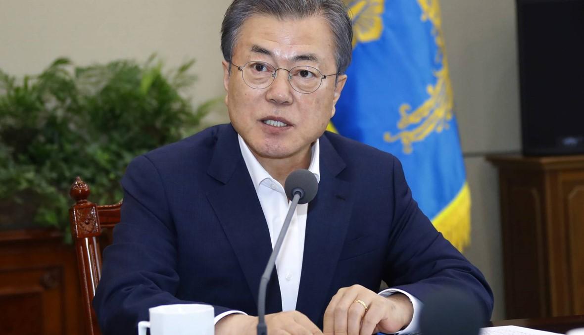 """رئيس كوريا الجنوبيّة مستعدّ لعقد قمّة رابعة مع كيم """"في أيّ مكان"""""""
