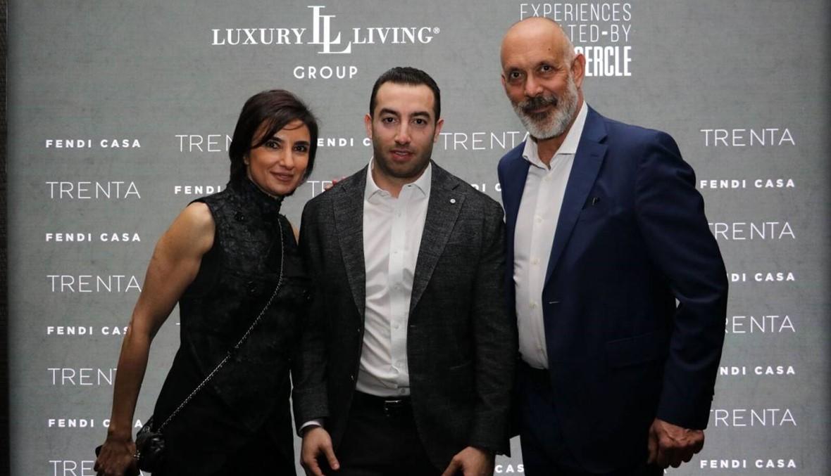 Fendi Casa تحتفل بذكرى الثلاثين في بيروت