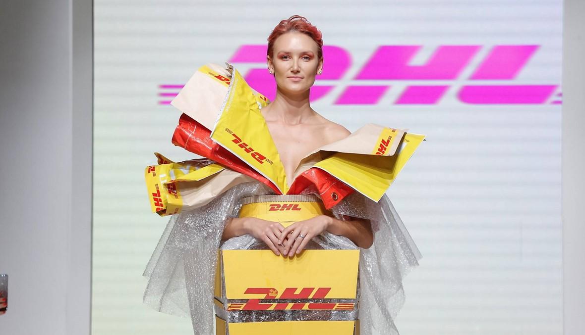 ميخائيل شمعون يتعاون مع DHL في أسبوع الموضة العربية