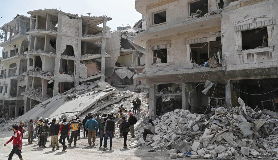 سوريا: غارات جويّة روسيّة تستهدف إدلب... مقتل عشرة أشخاص
