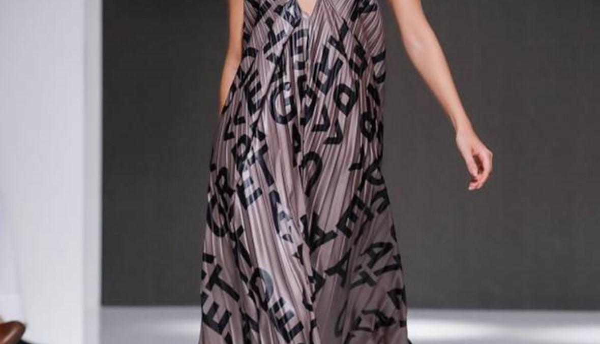 اليوم الثالث من أسبوع الموضة العربي في دبي : الرمادي والميتاليكي سيطرا على الخشبة