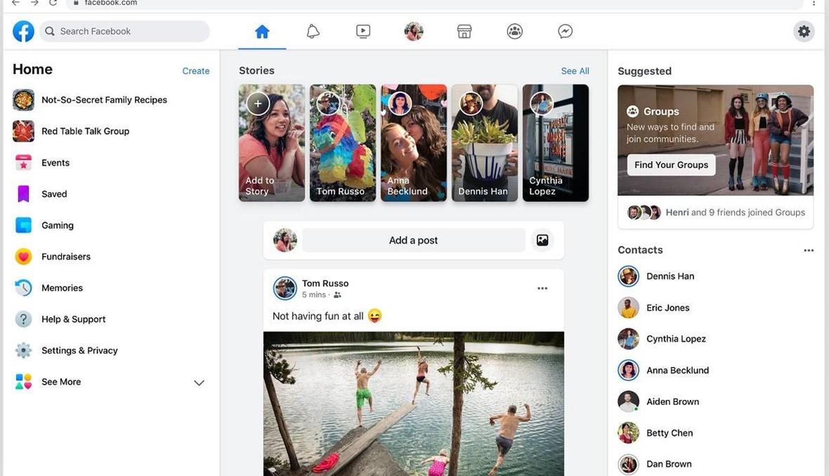 بالصور: فايسبوك يطلق تصميماً جديداً وميزات جديدة!