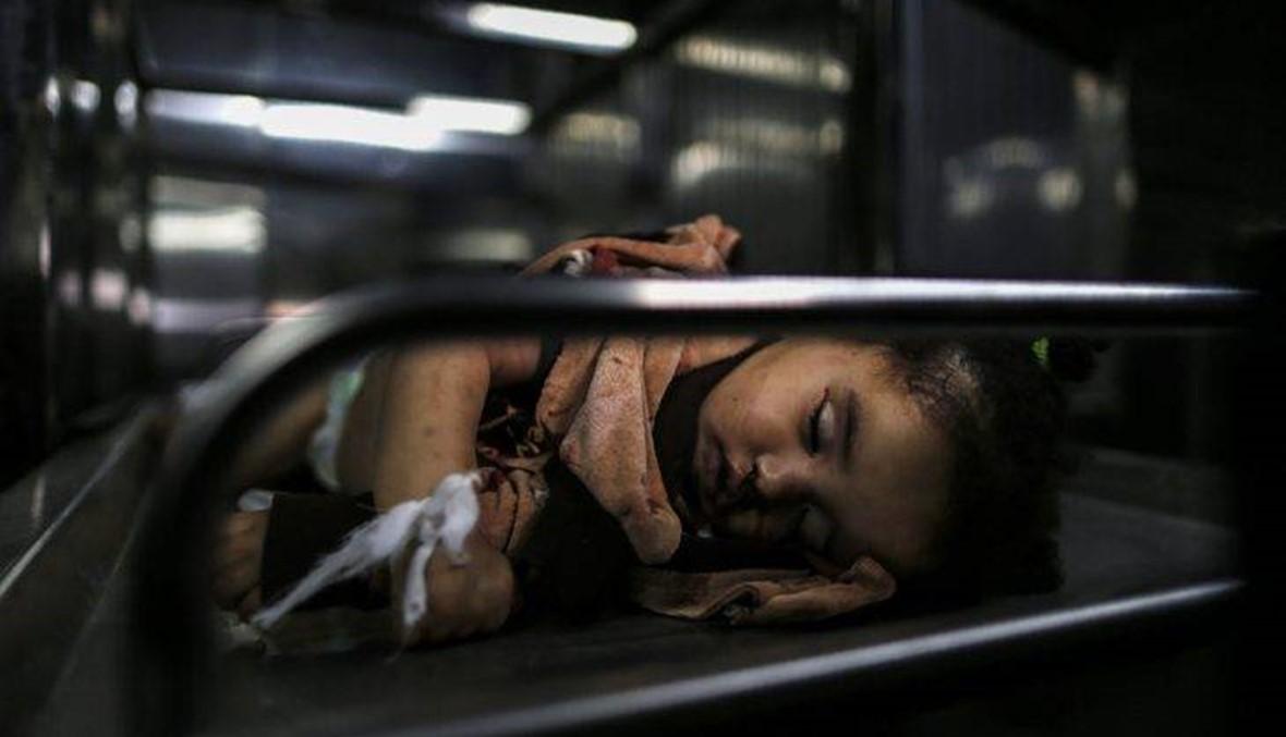 المرأة التي قتلت مع الطفلة الرضيعة صبا في غزة قريبتها وليست والدتها