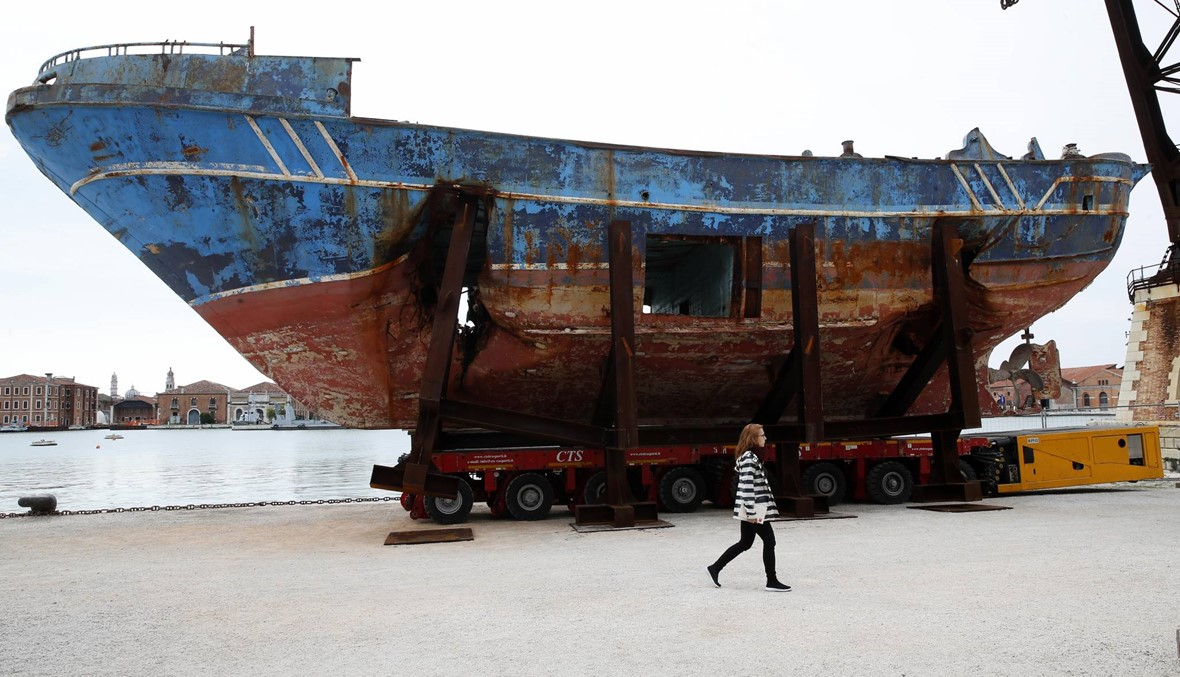 """قارب مهاجرين """"انقلب"""" قبالة ساحل تونس: غرق 70 منهم، وإنقاذ 16 آخرين"""