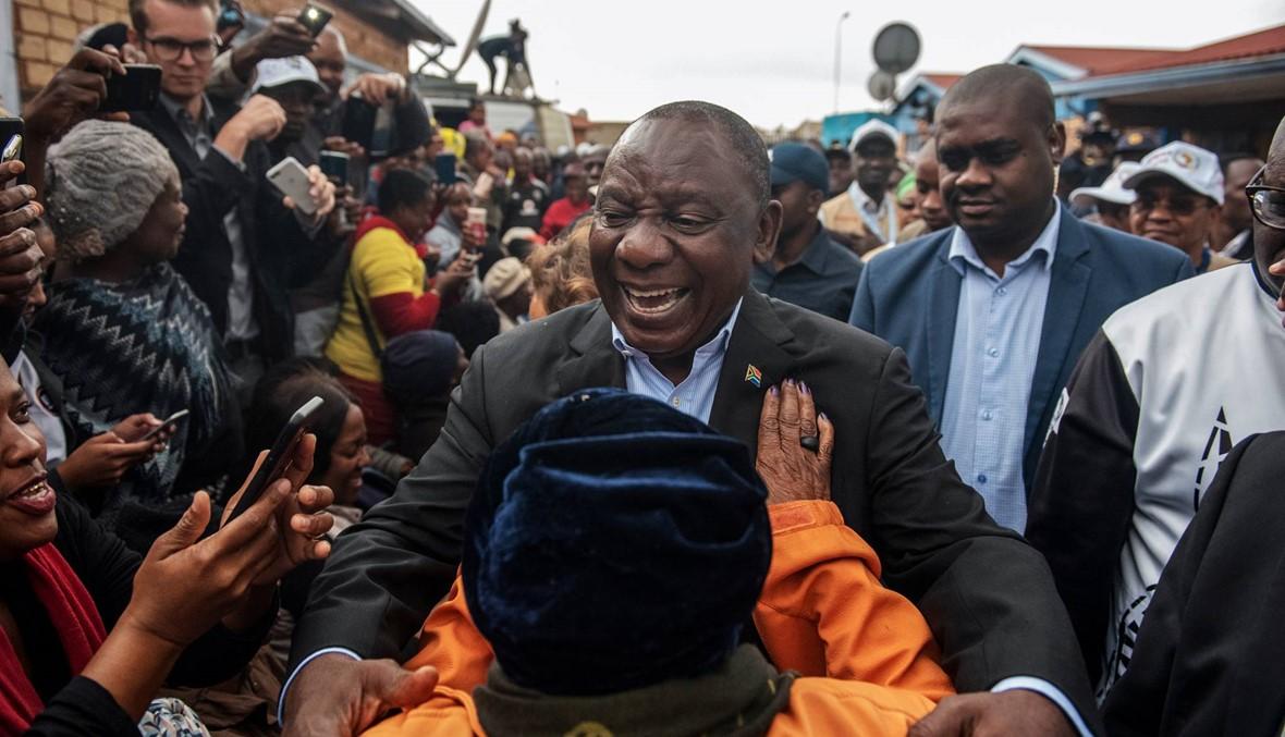 """جنوب إفريقيا: فوز كبير لـ""""المؤتمر الوطني"""" الحاكم في الانتخابات التشريعيّة"""