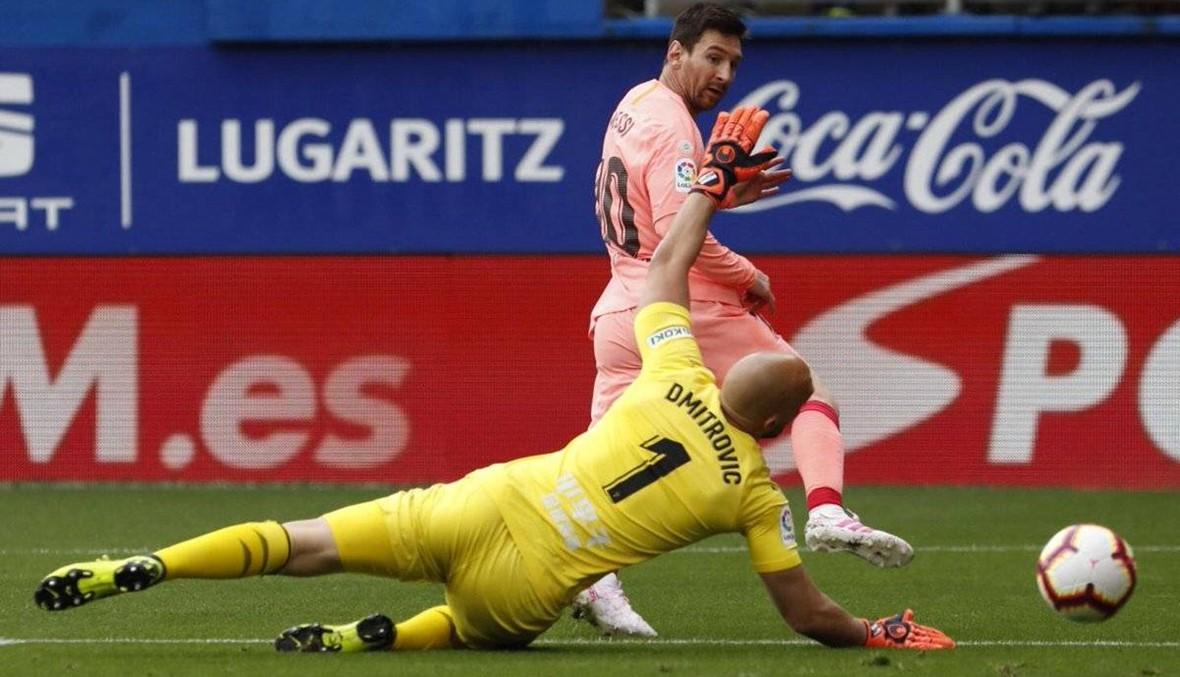 ميسي هداف الدوري الإسباني للمرة السادسة