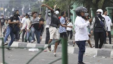 نتائج الانتخابات الرئاسية تثير موجة احتجاجات... ستة قتلى في مواجهات في اندونيسيا