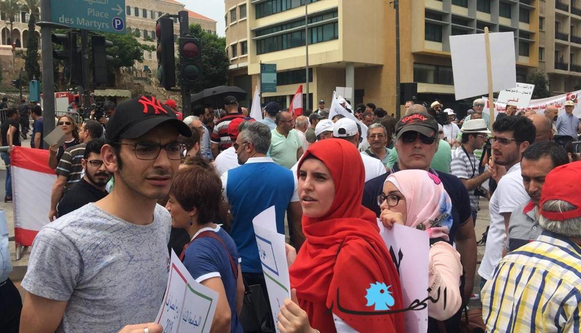 اعتصامات لأساتذة وطلاب الجامعة اللبنانية في بيروت والشمال... وموقف لشهيب