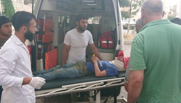 سبعة جرحى من عائلة واحدة نتيجة انقلاب سيارة في منطقة بعلبك