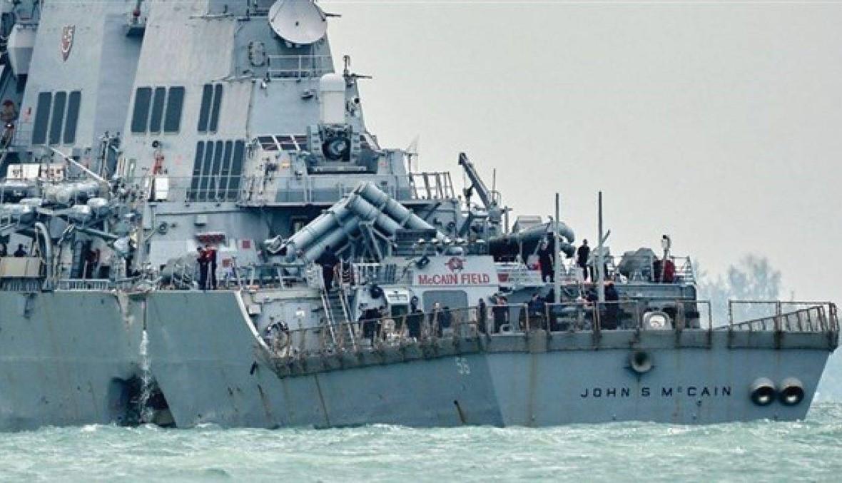 البنتاغون يحتج على محاولة البيت الأبيض إخفاء سفينة حربية تحمل إسم ماكين