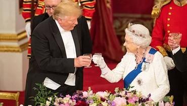 دونالد ترامب يخلّ بالبروتوكول الملكي... ماذا فعل؟