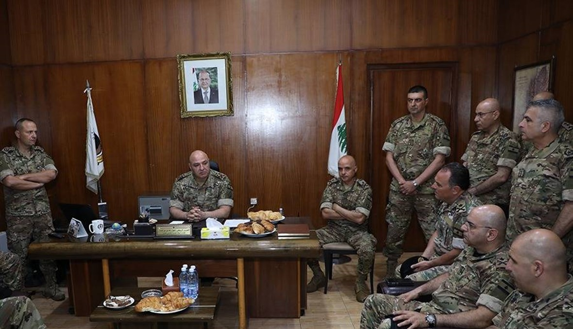 قائد الجيش زار طرابلس: الضريبة كانت غالية لكنها شرف لنا