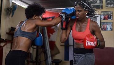 النساء الكوبيات ممنوعات عن خوض المسابقات في جزيرة الملاكمة