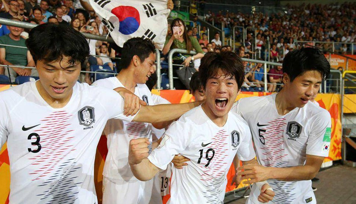 لقب مونديال الشباب بين أوكرانيا وكوريا الجنوبية
