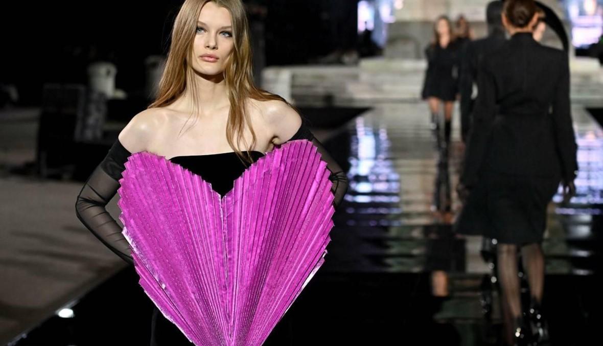 أزياء مزدانة بالقلوب في عرض Pitti Immagine Uomo