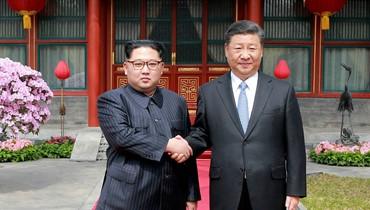الرئيس الصيني شي جينبينغ في بيونغ يانغ