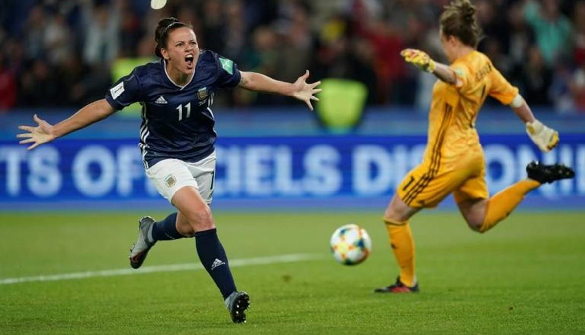مونديال السيدات: 3 أهداف للأرجنتين في آخر ربع ساعة