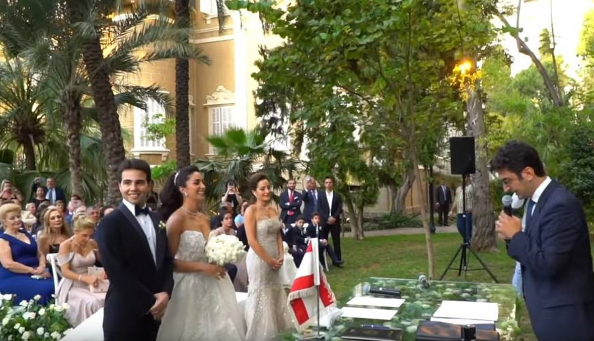 باسم الحبّ والقانون... عبدالله وماري-جو تزوّجا مدنياً في لبنان