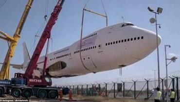 أكبر متنزّه غطس... مناظر رائعة لغواص داخل الطائرة الغارقة في البحرين
