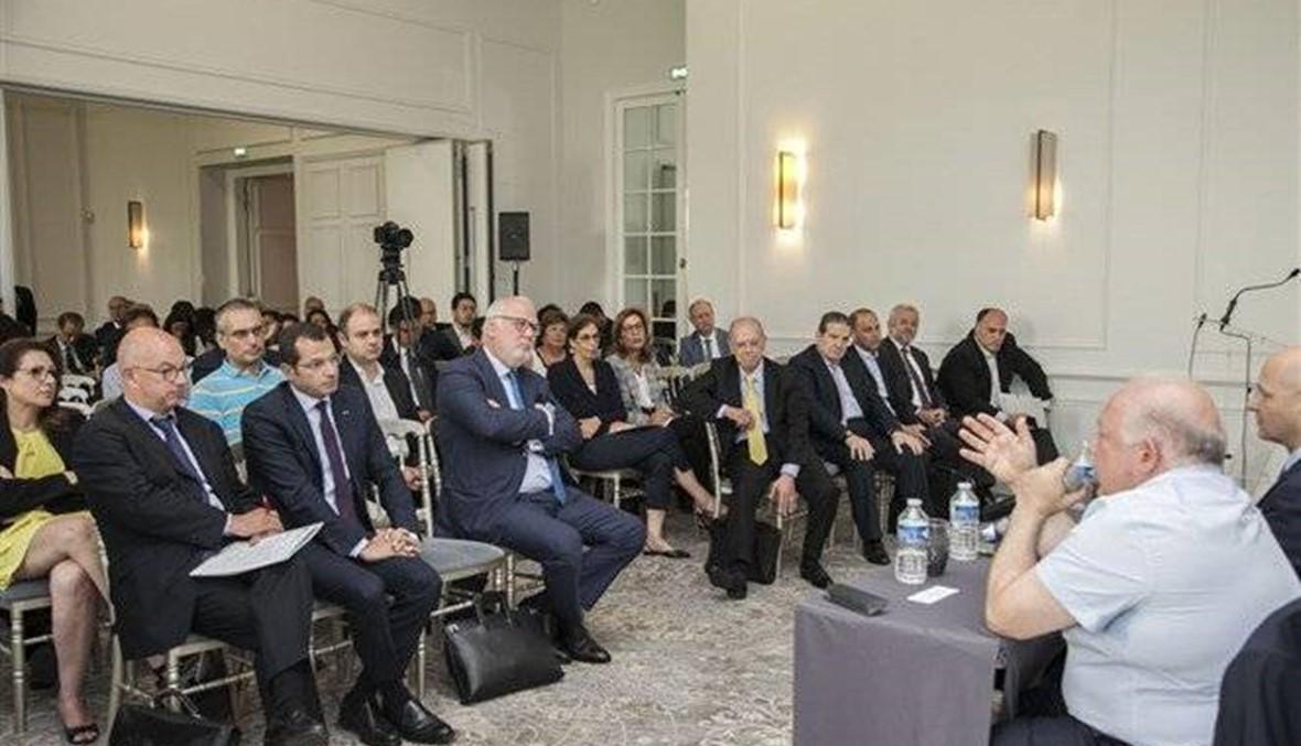 ندوة عن المعلوماتيّة وتعزيز تقنيّات التواصل لغرفة التجارة الفرنسيّة - اللبنانيّة في باريس