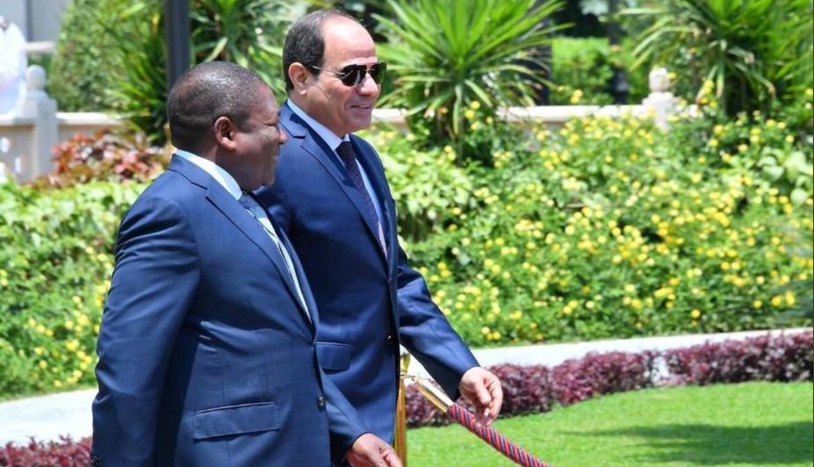 السيسي يلتقي رئيس موزمبيق... تطوير العلاقات الاقتصادية بين البلدين