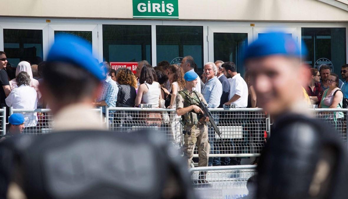 """محاكمة شخصيات أساسية في """"حراك جيزي"""" المعارض لاردوغان"""