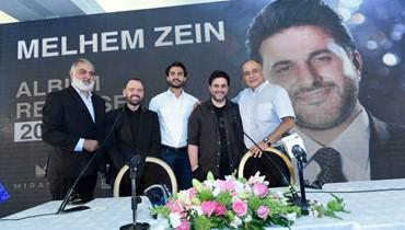 ملحم زين يُطلق ألبومه من طرابلس: لا تغريني لعبة الأرقام!