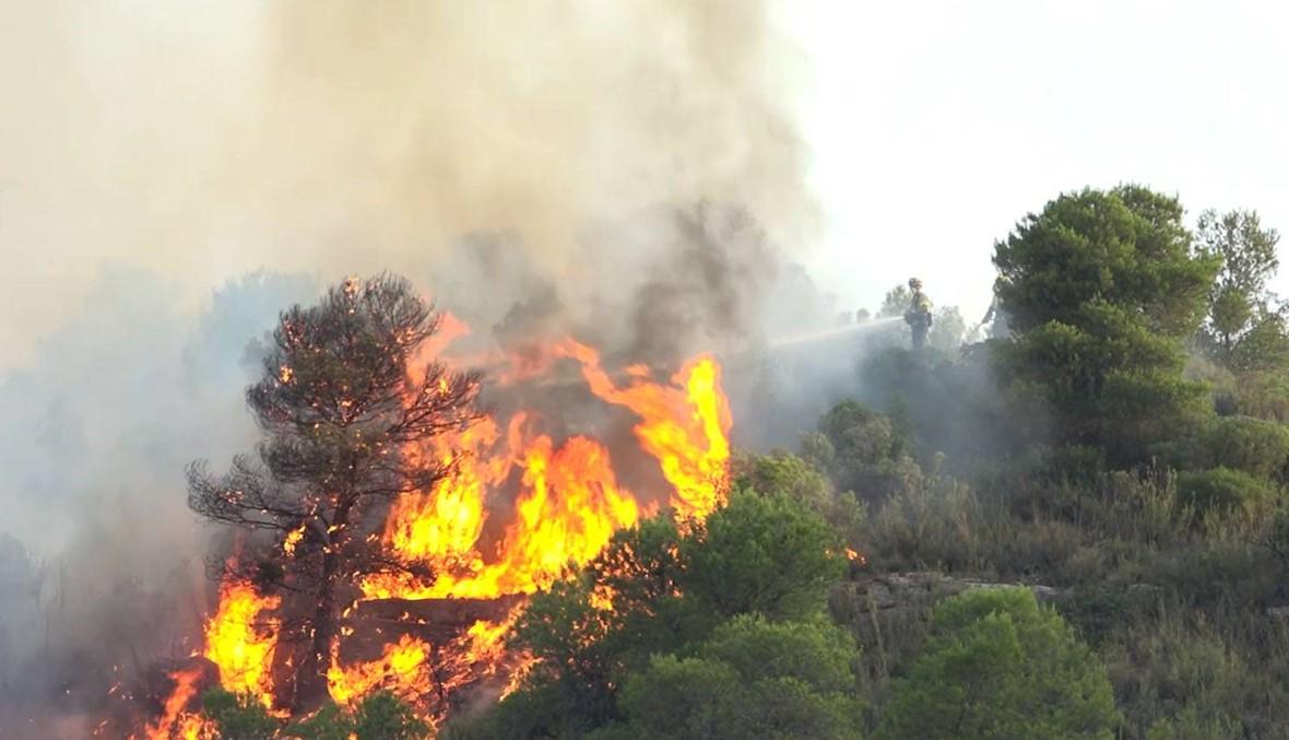 الحرارة ستتخطّى الـ40 درجة في أوروبا... حريق حرجي في كاتالونيا