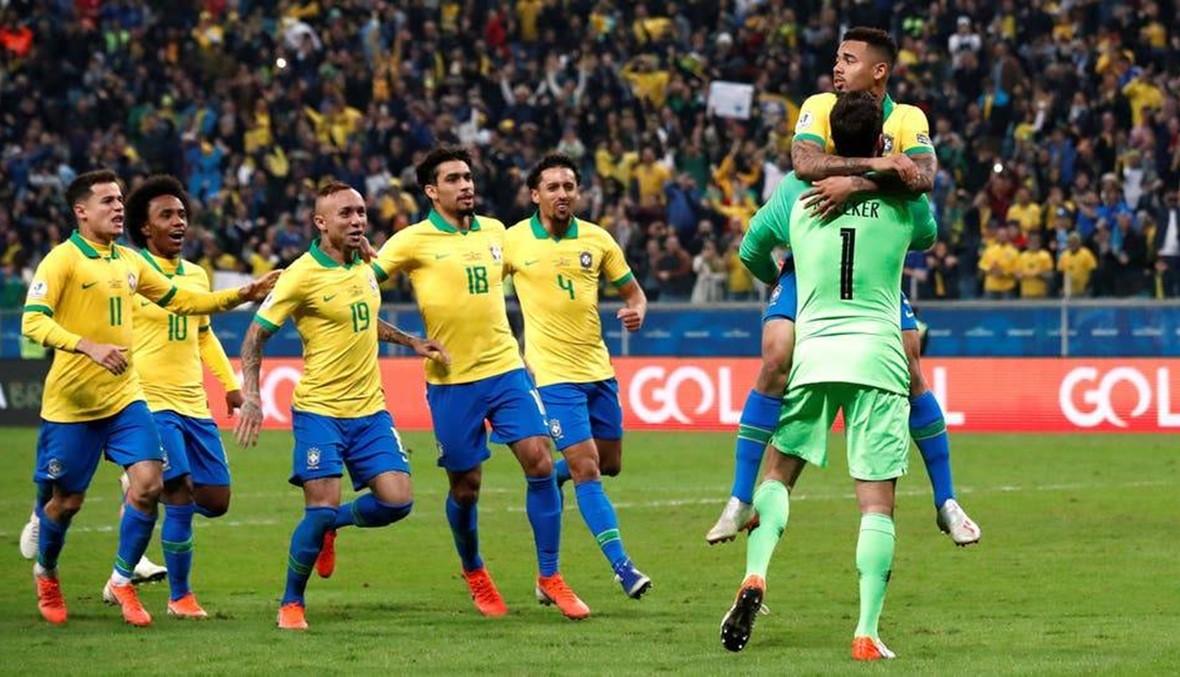 البرازيل تتخطى باراغواي وتبلغ نصف النهائي لكوبا أميركا