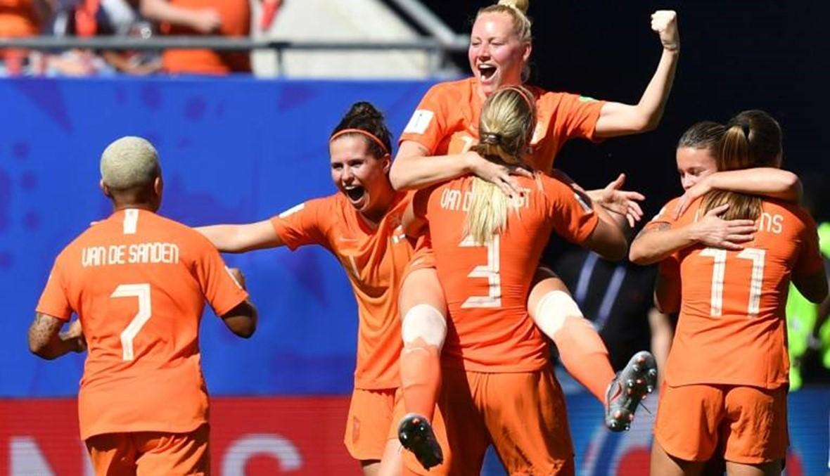 هولندا إلى نصف النهائي لمونديال السيدات للمرة الأولى