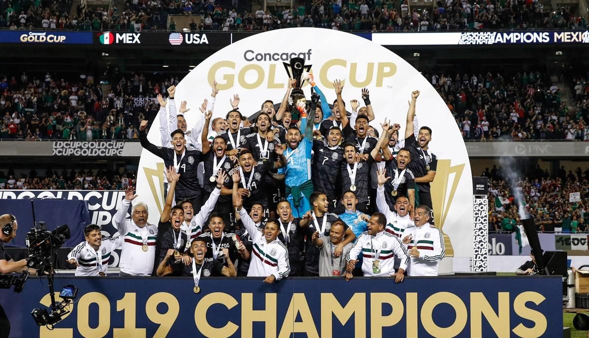 المكسيك بطلة الكأس الذهبية للمرة الثامنة
