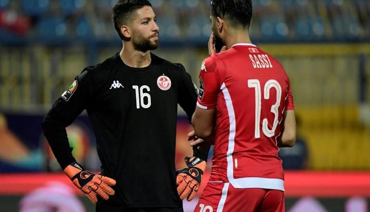 """حارس تونس يعتذر... """"حماسي لبلدي سبباً لرد فعلي"""""""