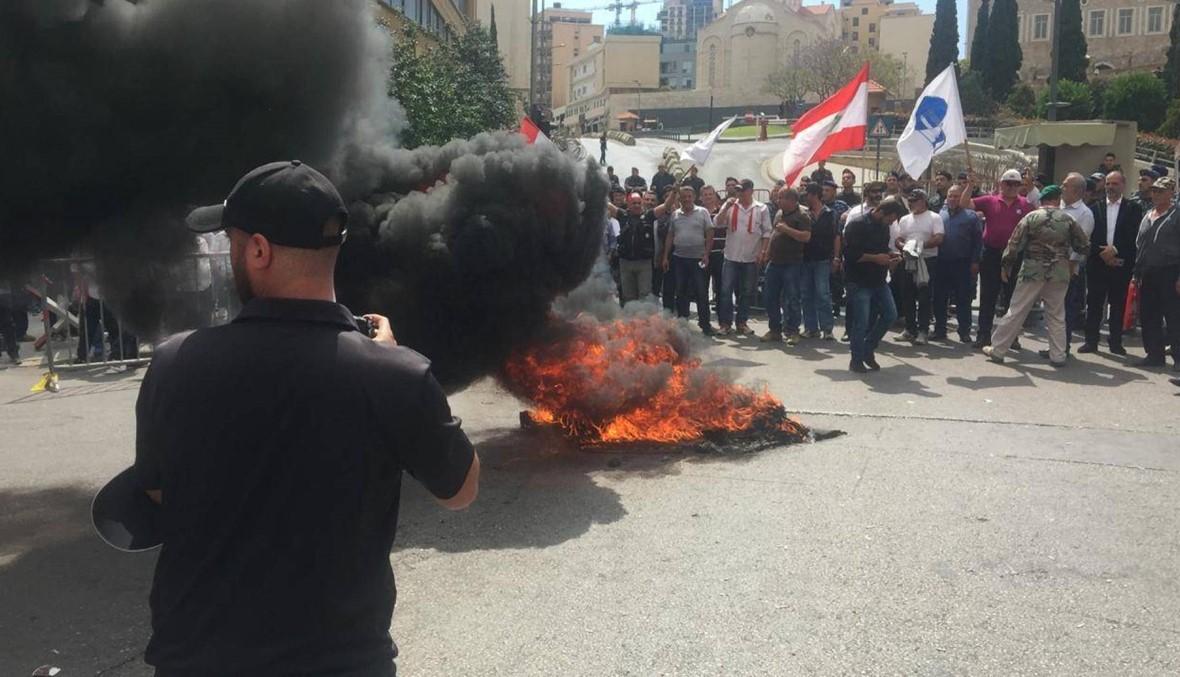 دعوة للتظاهر والاعتصام الثلثاء لمنع وصول النواب إلى المجلس