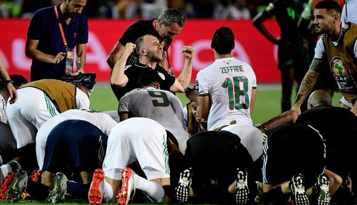 صاروخ محرز يقود الجزائر إلى نهائي كأس أفريقيا