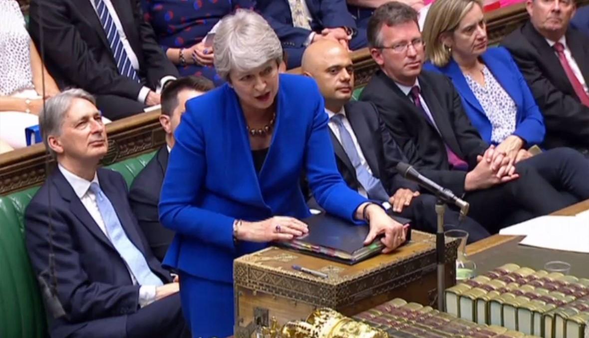 ماي في آخر جلسة برلمانية... مغالبة الدموع وسط تصفيق حارّ