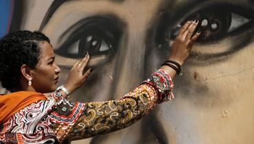 """غرافيتي لتخليد ذكرى """"شهيد ثورة الخرطوم""""... """"كأنّه لا يزال حياً"""""""