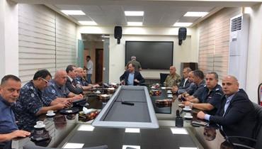 بعد بحث مجريات تحركات اللاجئين الفلسطينيين... هذا ما صدر عن مجلس الأمن الفرعي في الجنوب