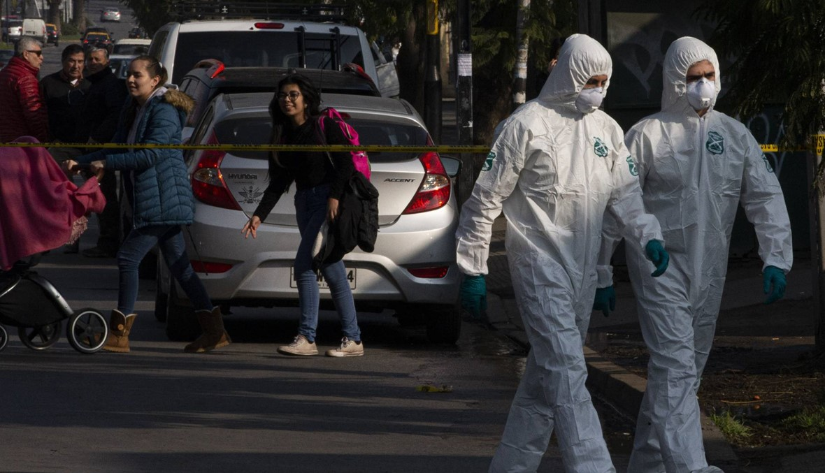 8 جرحى في انفجار عبوة ناسفة أرسلت عبر البريد إلى مركز للشرطة في تشيلي