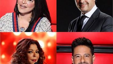 """موسم خامس من """"the Voice"""": راغب وأحلام مجدداً... وحماقي وسميرة سعيد"""
