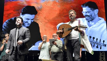 شربل روحانا وملحم زين في بيبلوس: تناغم وارتقاء بالموسيقى