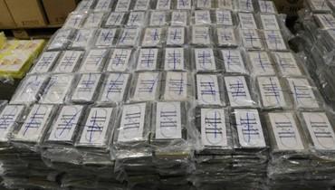 أكبر عملية ضبط للمخدرات في ألمانيا: 4,5 أطنان كوكايين بمليار أورو