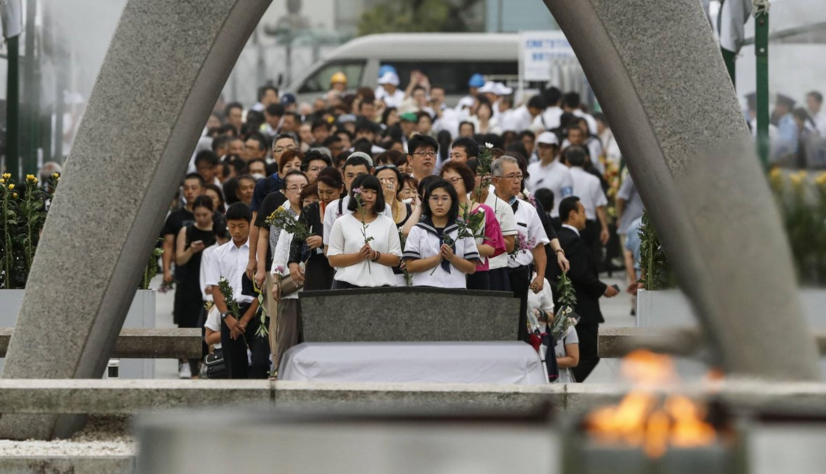 في ذكرى إلقاء القنبلة الذرية... هيروشيما تدعو طوكيو لتوقيع معاهدة حظر السلاح النووي