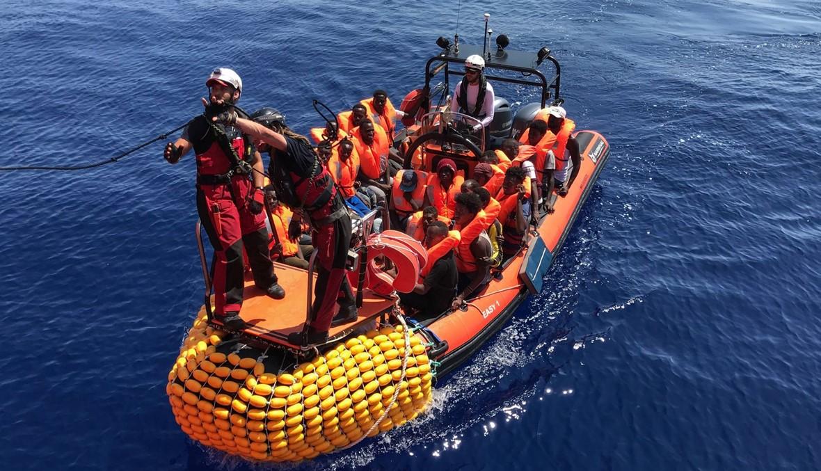 سفينة أوشن فايكينغ تنفّذ عملية إنقاذ إضافية في المتوسط وبات على متنها 356 مهاجراً
