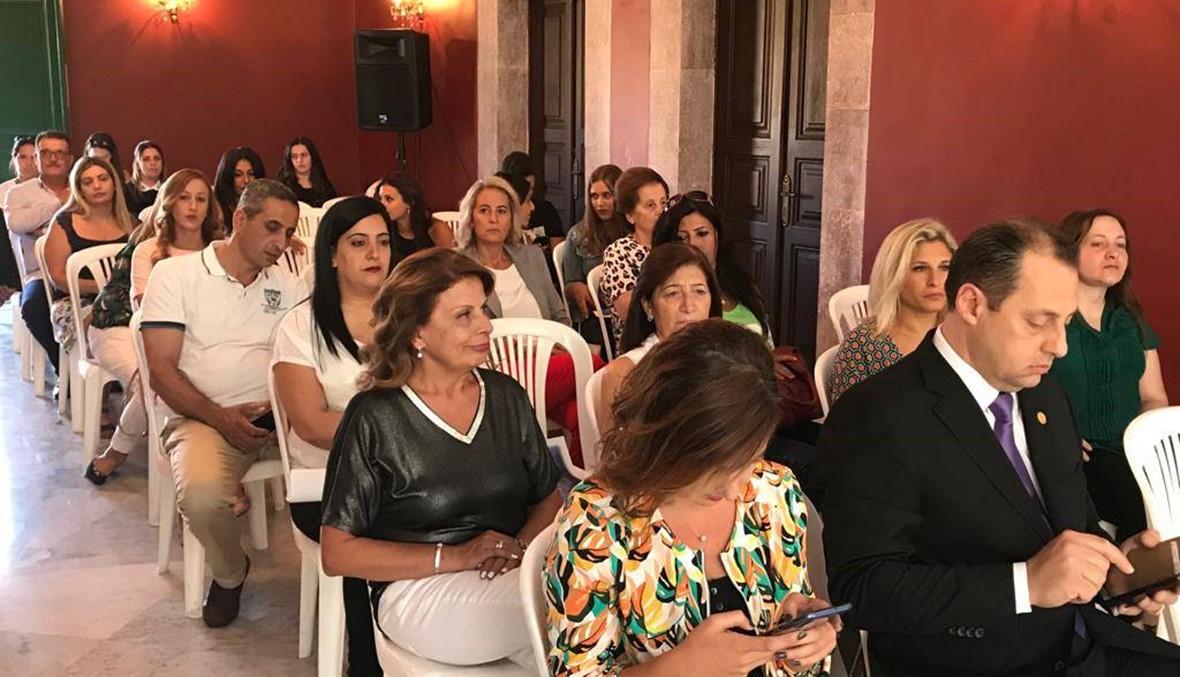 افتتاح أسبوع المرأة الثقافي في إهدن